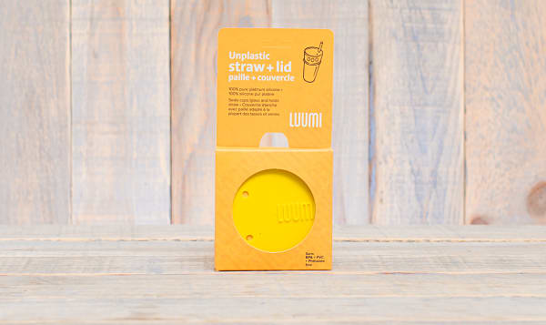Yellow Lid and Straw