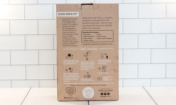 Organic Water Kefir Home Brew Kit