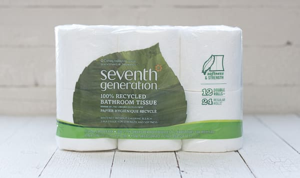 100% Recycled Toilet Paper (2-ply)