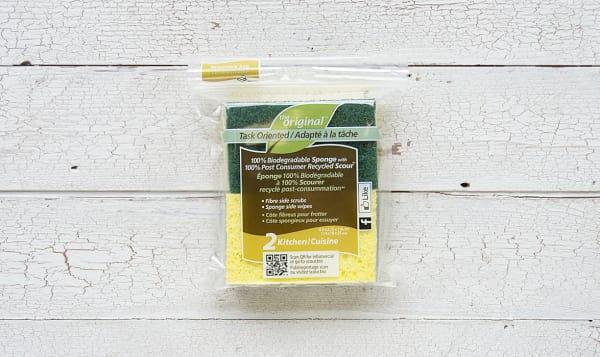Kitchen Sponge with Scour
