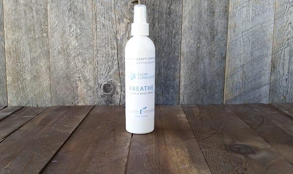 Breathe  Aromatherapy Spritzer