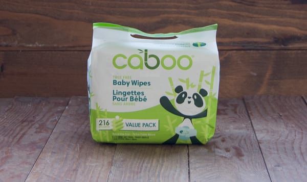 100% Tree-less Baby Wipes - Value Pack