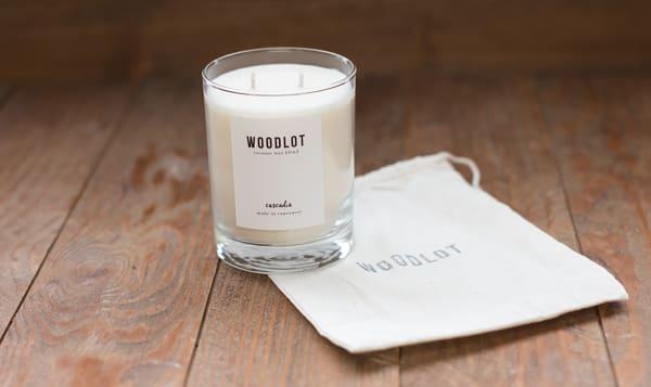 Coconut Wax Candle - Cascadia