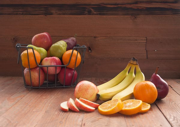 Organic Fruit Through the Week Box