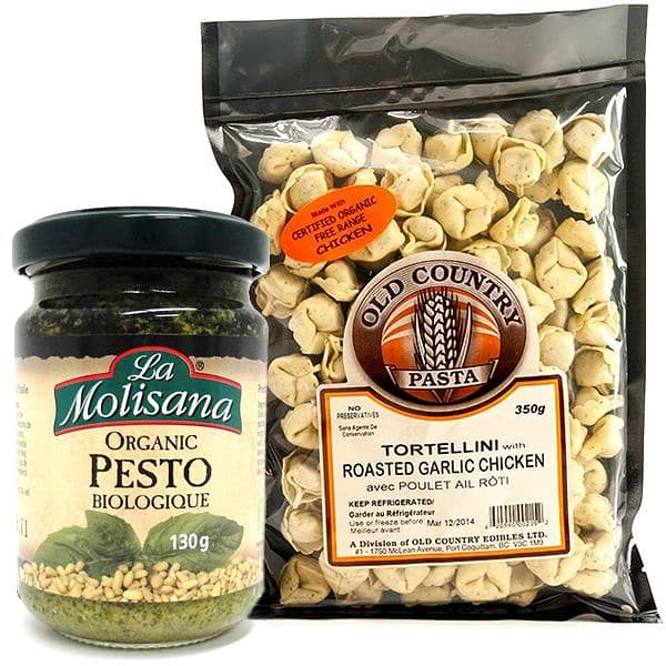 Pesto Chicken Tortellini Combo Ingredient Bundle