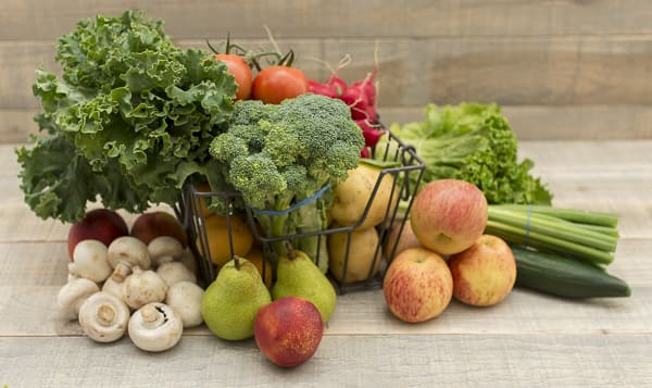 Organic Local Farm Fresh Box