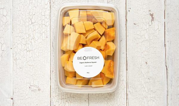 Organic Squash, Butternut, Fresh Cut