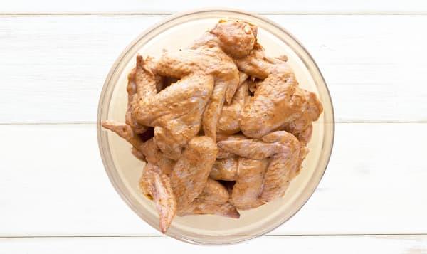 Honey Garlic Chicken Wings, Fresh