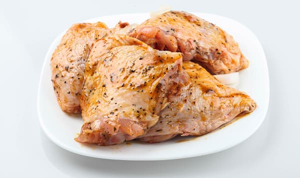 Greek Marinated Chicken Thighs (Frozen)