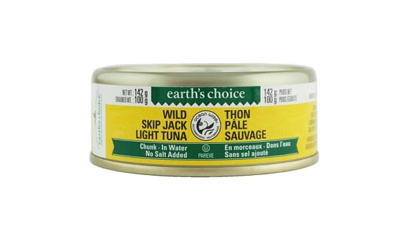 Wild Skipjack Chunk Tuna, No Salt