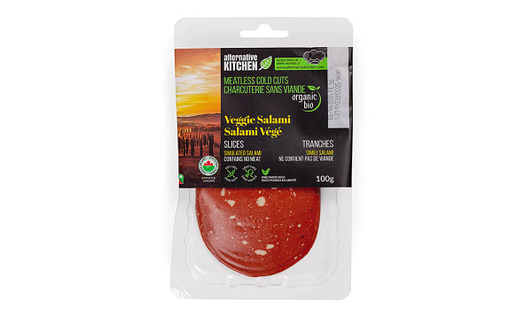 Organic Veggie Salami, Sliced