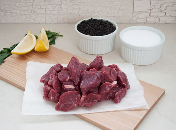 100% Grass-Fed Stewing Beef - LIMITED AVAILABILITY (Frozen)