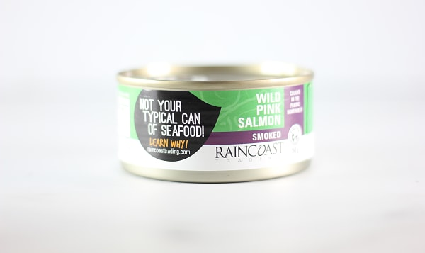 Canned Smoked Pink Salmon