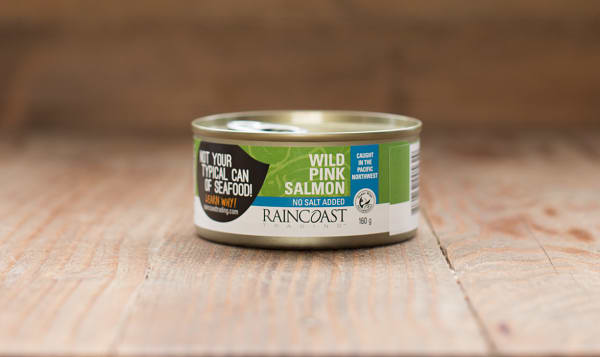 Canned Wild Pink Salmon - NO SALT ADDED