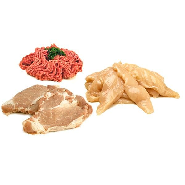 Meal Plan Pack - Chicken Tenders/Bolognese/Pork Shoulder Butt Steaks - Save 16% (Frozen)