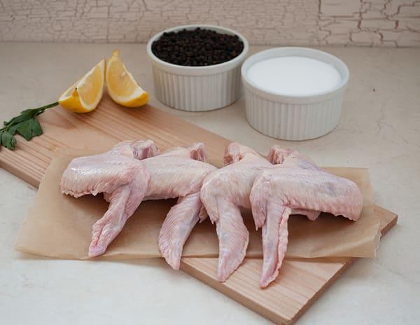 Organic Yarrow Meadows Chicken Wings (Frozen)