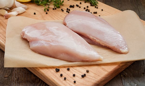 Chicken Breasts - Raised Without Antibiotics - 2 Breasts (Fresh)