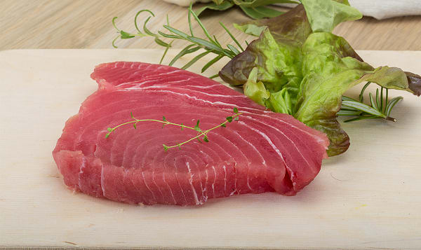 Ocean Wise Ahi Tuna Steak (Frozen)