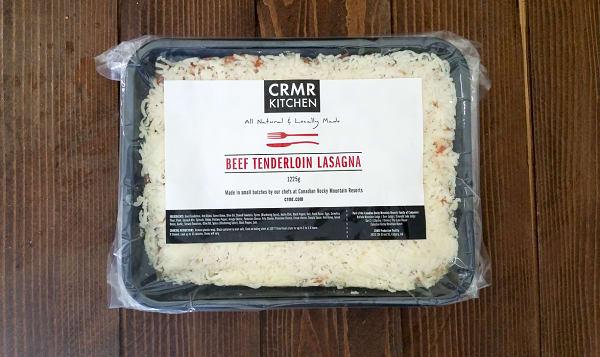 Beef Tenderloin Lasagna (Frozen)