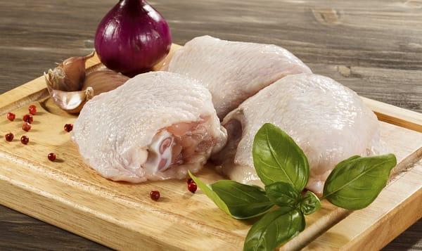 Bone-in Skin-on Chicken Thighs (Frozen)
