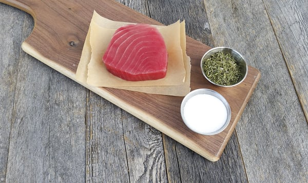 Tuna Ahi Yellowfin Steak, Marinated (Frozen)