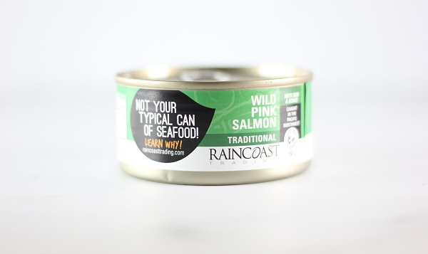 Canned Wild Pink Salmon