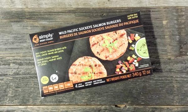 Sockeye Salmon Burgers (Frozen)