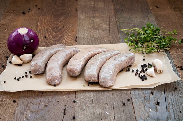 Rosemary Garlic Sausages (Frozen)