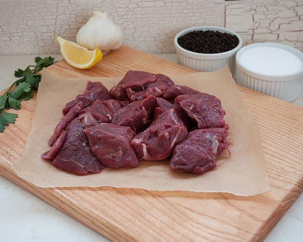 Beef Stew Meat, Grass Fed (Frozen)