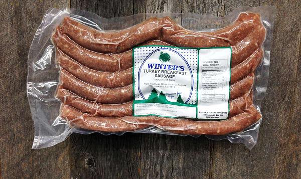 Turkey Breakfast Sausage (Frozen)