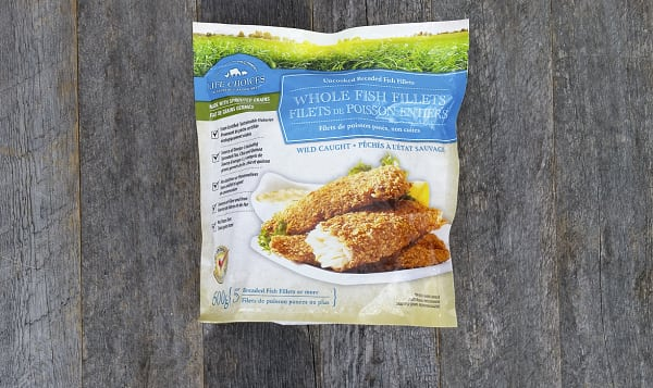 Breaded Whole Fish Fillets (Frozen)