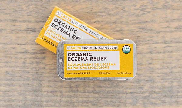 Organic Travel Size Eczema Relief