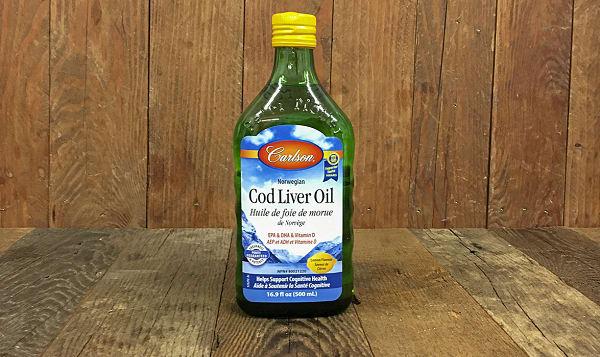 Lemon Cod Liver Oil
