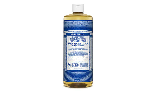 18-in-1 Hemp Pure-Castile Soap - Peppermint
