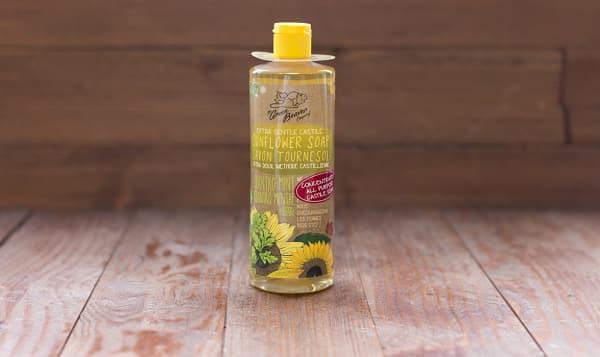 Cilantro Mint Sunflower Castile Liquid Soap