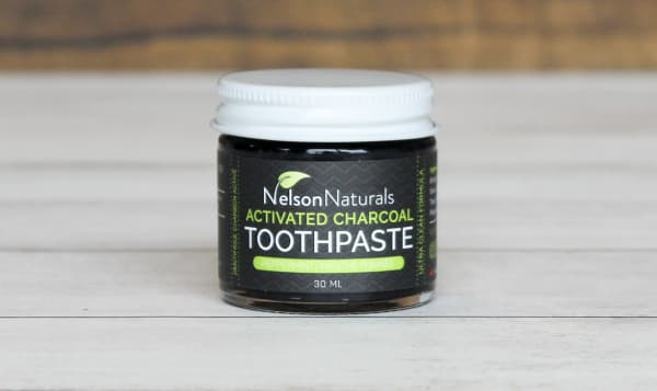 Activated Charcoal Toothpaste - Peppermint