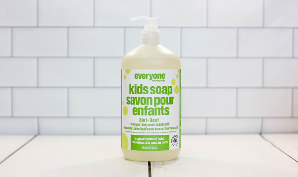 Every Kid 3-in-1 Soap Tropical Coconut Twist