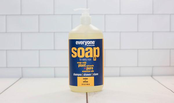 Mens 3-in-1 Soap - Cedar + Citrus