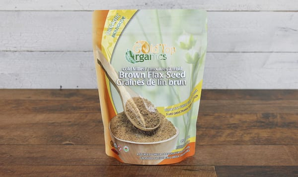 Organic Milled Brown Flax Seed