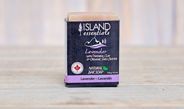 Lavender (w Clay & Shea Butter) Bar Soap