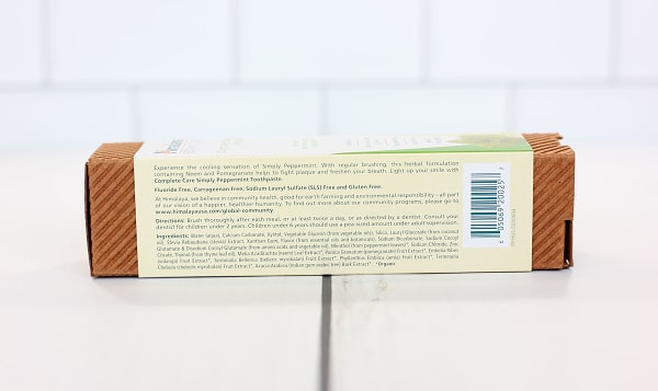 Organic Whitening Toothpaste Peppermint