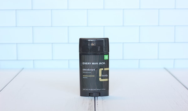 Deodorant, Sandalwood