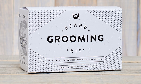 Beard Grooming Kit - Eucalyptus & Lime with Distilled Pine Scotch