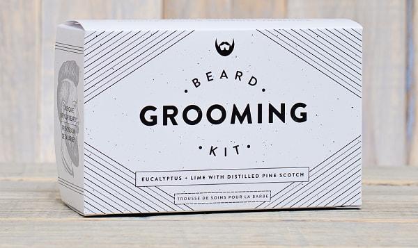 Beard Grooming Kit - Eucalyptus & Lime with Distilled Pine Scotch