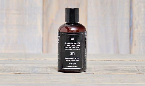 Beard Shampoo - Bergamot + Ylang with Distilled Cedarwood
