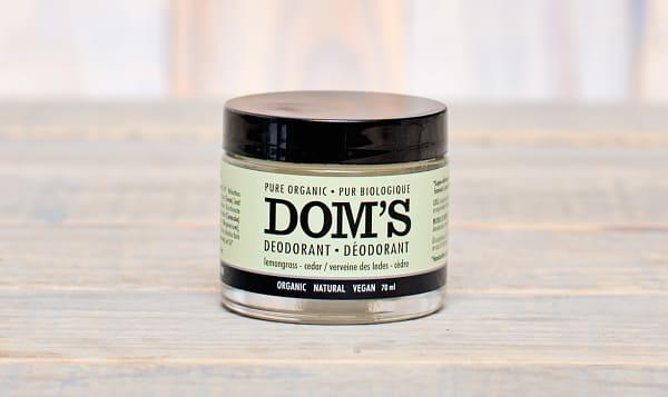 Organic Lemongrass/Cedar Deodorant