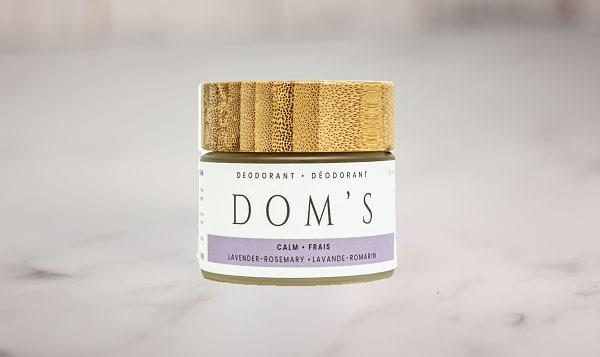 Organic Lavender & Rosemary Deodorant