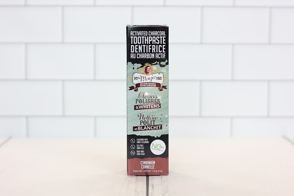 Charcoal Toothpaste - Cinnamon Clove