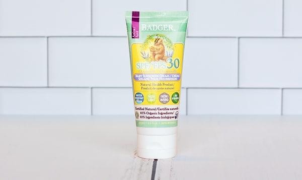 SPF 30 Baby Sunscreen