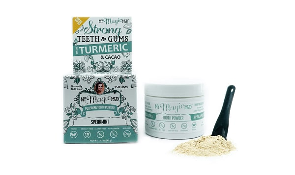 Turmeric Tooth Powder - Spearmint